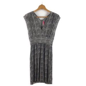 Plenty by Tracy Reese Gray Knit Jersey Dress Sz M